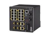 Cisco Industrial Ethernet 2000 Series - Přepínač - řízený - 16 x 10/100 + 2 x kombinace Gigabit SFP (TD2783261)