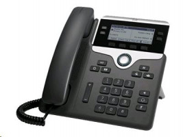 Cisco IP Phone 7841 - Telefon VoIP - SIP, SRTP - 4 linky