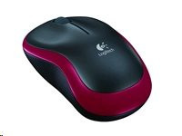 Logitech Mouse M185 Red (910-002237)