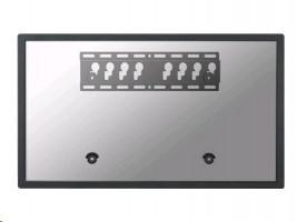 NewStar LED-W040 - Montážní sada ( montáž na zeď ) pro televize - černá - velikost obrazovky: 23
