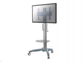 NewStar PLASMA-M2000 - Vozík pro přehrávač LCD / plazma panel / DVD ( Náklon a otočení ) - stříbrná