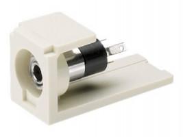 3.5mm stereo zdířka bílá - balení 1 ks (CM35MSSWH)