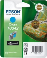 cartridge Epson C13T03424020 - cyan - originální T0342 s RF Taggem