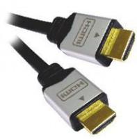 PremiumCord Kabel HDMI A - HDMI A M/M 10m zlacené konektory, verze HDMI 1.3b HQ (8592220004682)