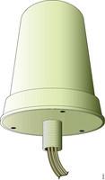 2.4 GHz 4 dBi 802.11n Omni wall mount antenna (AIR-ANT2440NV-R=)