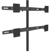 Dataflex Viewmaster M3 Pole Mount Double Long Wing 2x2 - Upevňovací komponent ( pole mount ) pro 4