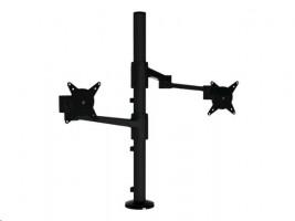 Dataflex ViewLite Monitor Arm 143 - Montážní sada ( svorka k montáži na stůl, žerď, 2 výklopná rame