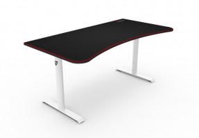Arozzi Arena ARENA-WHITE herní stůl bílo-černý