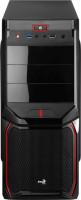 Aerocool V3X PC skříň černo-červená