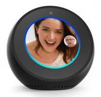 Amazon Echo Spot reproduktor s obrazovkou černý