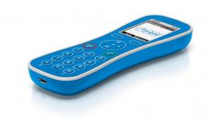 Auerswald COMfortel M-100 analogový telefon modrý