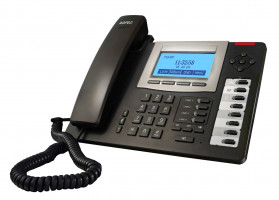 Agfeo T-19 SIP VoIP telefon černý