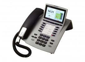 Agfeo ST45 analogový telefon stříbrný