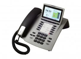 Agfeo ST45 IP telefon stříbrný