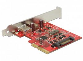 DeLOCK 89898 Interní USB 3.1 karta/adaptér rozhraní