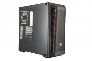 Cooler Master MasterBox MB511 červená, PC skříň