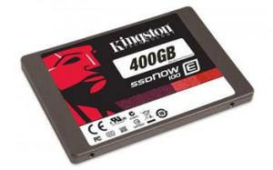 Kingston SSDNow E100 - SSD - 400 GB - interní - 2.5 (SE100S37/400G)