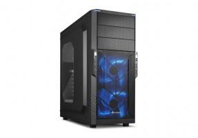 Sharkoon T3-W Počítačová skříň