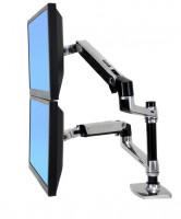 Ergotron LX Dual Stacking Arm, držák na 2 LCD