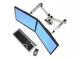 Ergotron LX Dual Side-by-Side Arm 45-245-026, stojan pro 2 LCD