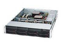 """Server Geh Super Micro 2U/2x740W/8x3.5"""" SC825TQC-R740LPB bez OS"""