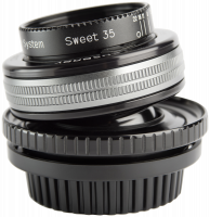Lensbaby Composer Pro II PL + Sweet 35 Optic Objektiv