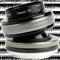 Lensbaby Composer Pro II + Sweet 35 Optic Canon EF Objektiv