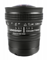 Lensbaby Circular Fisheye Sony E Objektiv