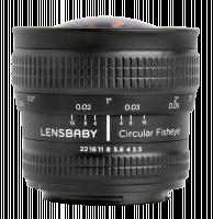 Lensbaby Circular Fisheye Pentax K Objektiv
