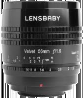 Lensbaby Velvet 56 Fuji X Objektiv