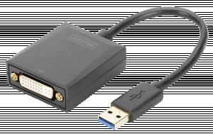 DIGITUS USB 3.0 - DVI adaptér