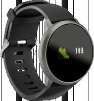 ACME SW101 Smartwatch HR chytré hodinky černé