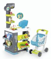 Smoby Supermarket modro-zelený 350212