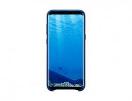 Samsung Alcantra EF-XG955A pro Galaxy S8+ pouzdro modrý