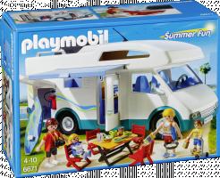 Playmobil 6671 Rodinný karavan