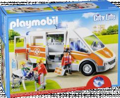 Playmobil 6685 Sanitka se světly a zvuky