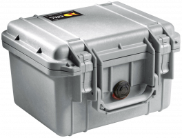 Peli Protector 1300 kufr stříbrný