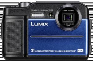 Panasonic Lumix DC-FT7 fotoaparát modrý