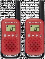 Motorola TALKABOUT T42 červené 2x vysílačky