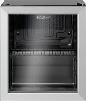 Bomann KSG 237.1 Glass-door Refrigerator chladící skříň s prosklenými dveřmi