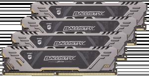 Crucial Ballistix Sport AT DDR4 32GB sada 8GBx4 2666 MT/s SR 288pin