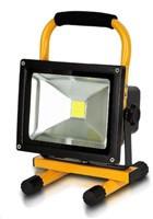 Whitenergy přenosné LED světlo s akumulátorem