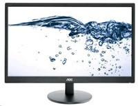 """AOC MT LCD - WLED 23,6"""" e2470Swda 1920x1080, 20M:1, 250cd/m2, 5ms, D-Sub, DVI, Repro, Černý,"""