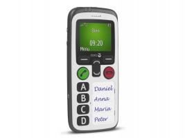 Doro Secure 580, mobilní telefon (bez CZ menu)