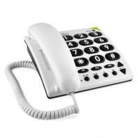 Doro PhoneEasy 311c bílá, stolní telefon