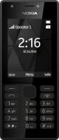 Nokia 216 Dual Sim černá, mobilní telefon (verze bez CZ menu)
