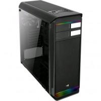Aerocool Aero-500G RGB počítačová skříň černá