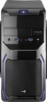 Aerocool Qs-183 Advance počítačová skříň modrá