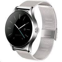 SmartWatch K88H chytré hodinky stříbrné