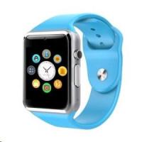 SMARTOMAT SmartWatch A1 Modrá, Chytré hodinky